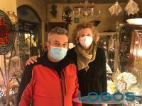 Castano - Laura e Marco, del laboratorio 'ArteVetro'