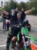 Sociale - Giovane ragazza in moto con 'Mai Paura'