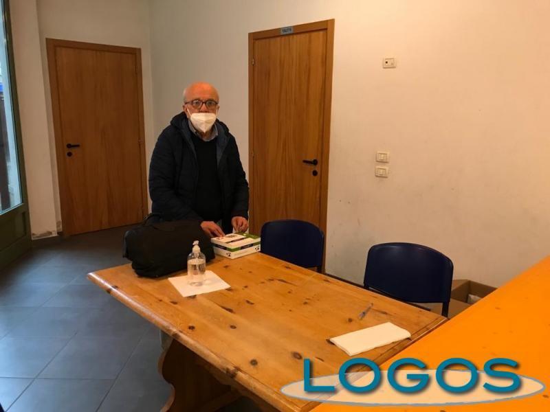 Castano - Il dottor Franco Gaiara (Foto d'archivio Franco Gualdoni)