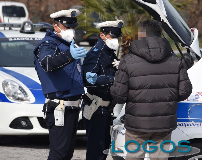 Territorio - Controlli Covid della Polizia locale (Foto internet)