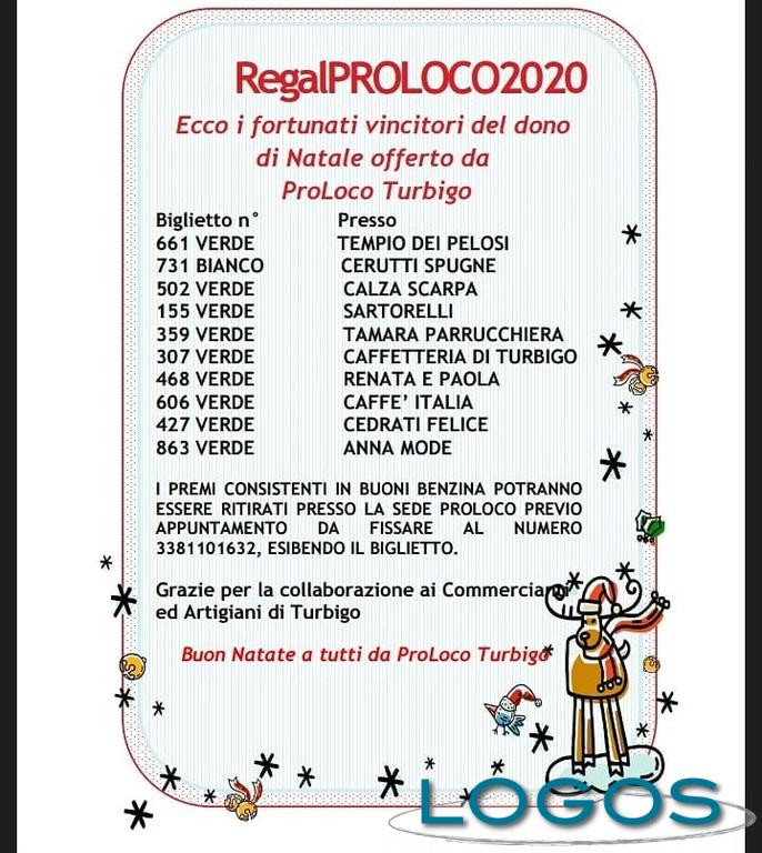 Turbigo - 'regalProLoco2020': i biglietti vincenti