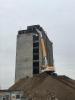 Inveruno - Si demolisce il silos dell'oleificio Belloli