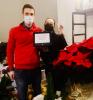 Inveruno - Premio a 'Dame des Fleurs' per la vetrina 2020