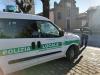 Nosate - Polizia locale a un posto di blocco