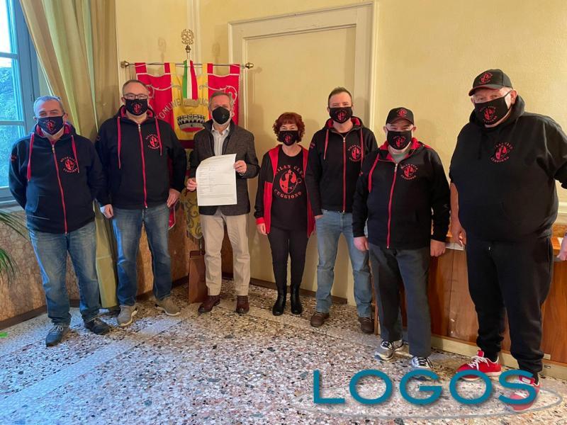 Cuggiono - Donazione del Milan Club per emergenza Covid
