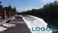 Territorio - Schiume nel Canale Industriale