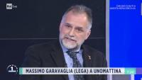 Politica - Massimo Garavaglia a Unomattina