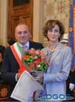 Legnano - Marta Cartabia con l'ex sindaco di Legnano, Centinaio
