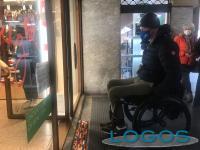 Sesto Calende - Prima rampa Lego in un'attività commerciale