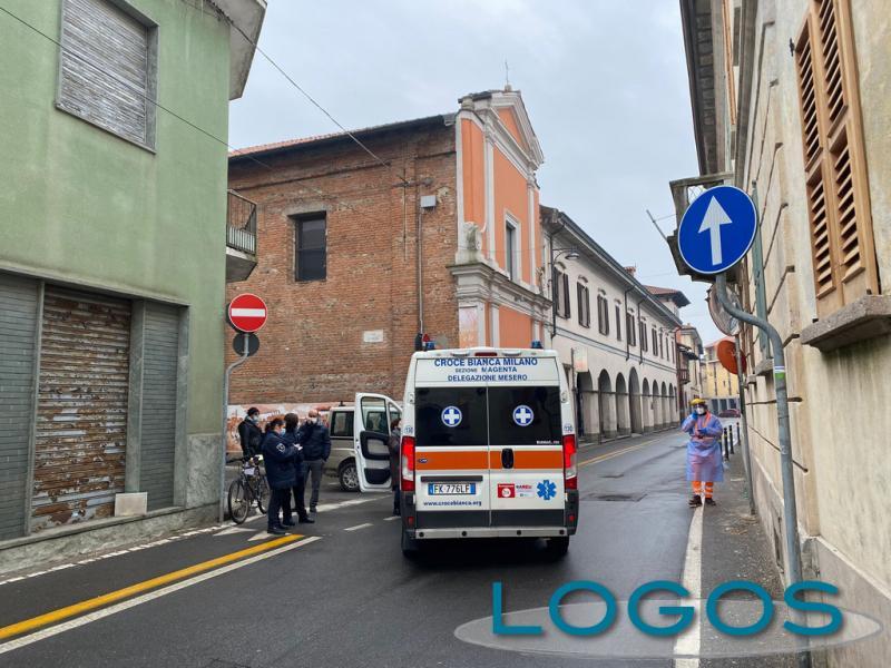 Cuggiono - Incidente in via San Rocco, 18 febbraio 2021