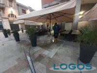 Legnano - Pulizia di piazza San Magno