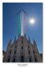 Milano - Le Frecce Tricolori sopra il Duomo di Milano (Foto Franco Gualdoni)