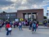 Cuggiono - Ingresso degli studenti alla primaria