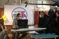 Magenta - Un momento dell'intervista a Munib Ashfaq