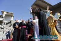 Sociale - Preghiera di Papa Francesco da Mosul