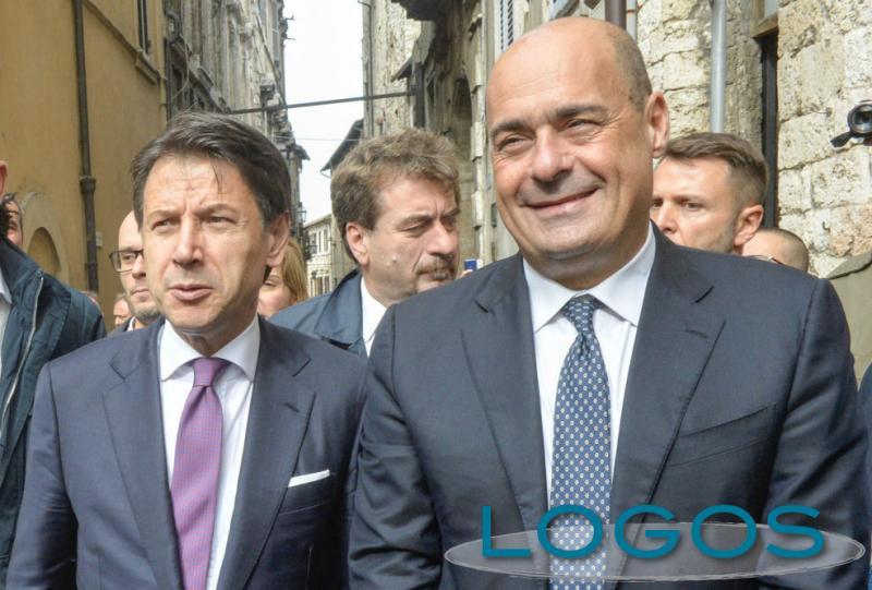 Politicia - Zingaretti e Conte (foto internet)