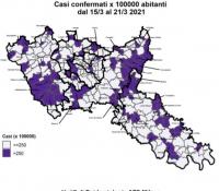 Salute - Paesi a rischio zona rossa dal 15 al 21 marzo 2021