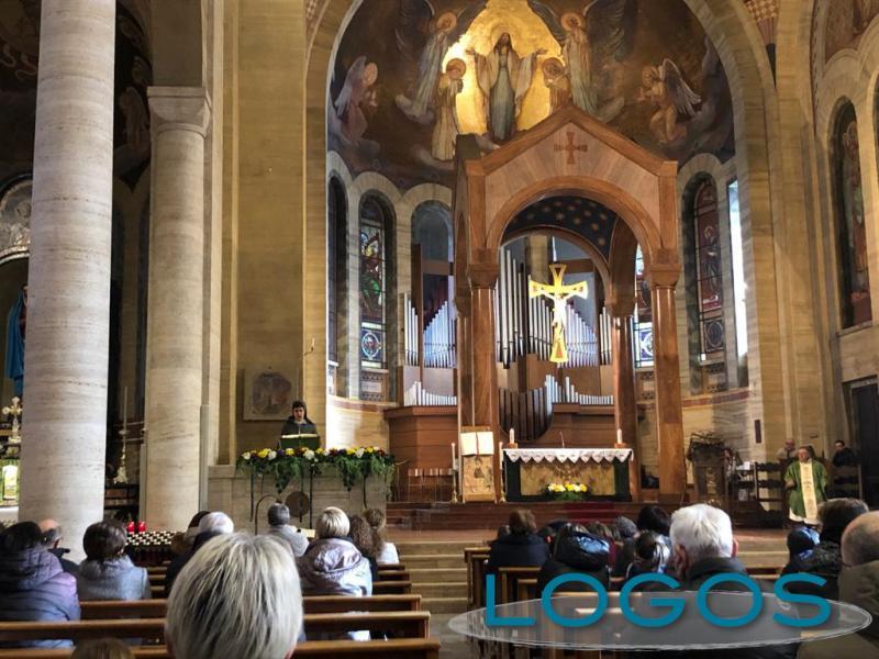 Turbigo - Una celebrazione in chiesa parrocchiale