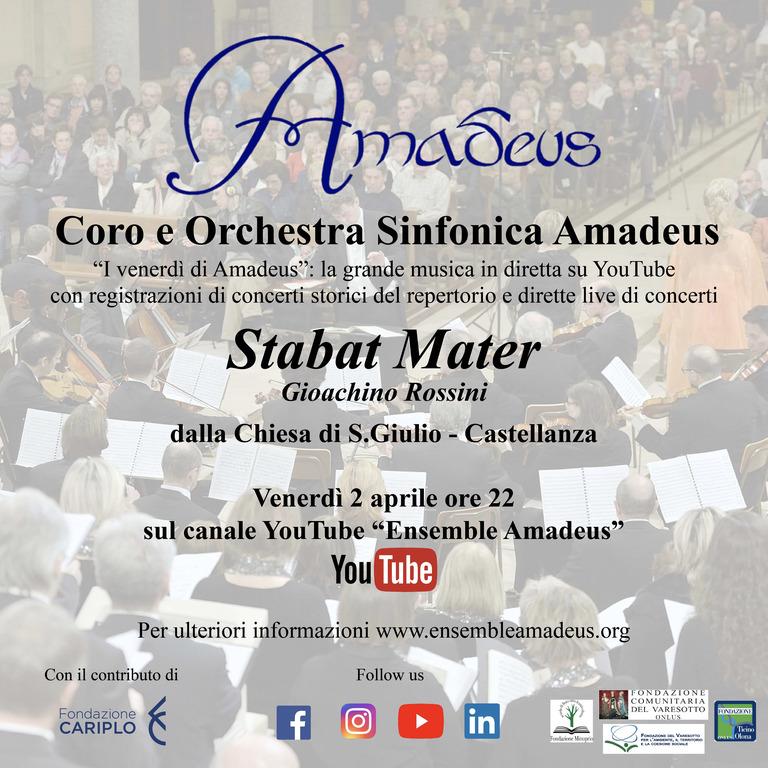 Musica - Stabat Mater, 2 aprile 2021, locandina