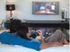 Televisione - Coppia davanti alla tv
