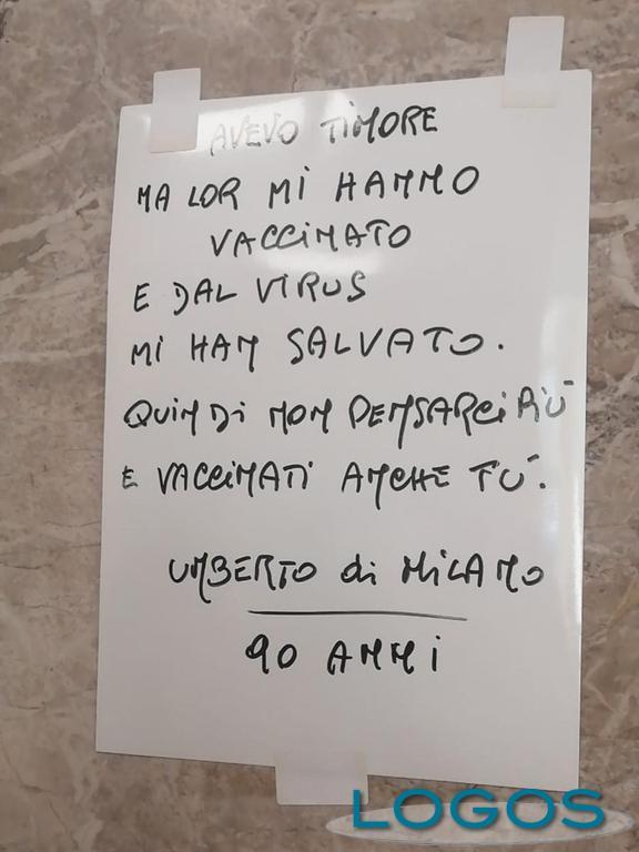 Milano / Storie - La poesia appesa all'ospedale Niguarda