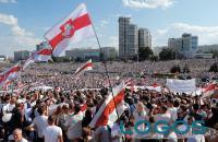 Sociale - Manifestazione in Bielorussia (foto internet)