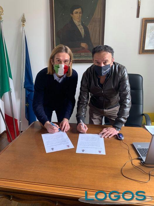 Turbigo / Galliate - I sindaci di Turbigo e Galliate