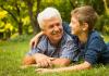 Rubrica 'Frecce sui giorni nostri' - Anziani con nipotino