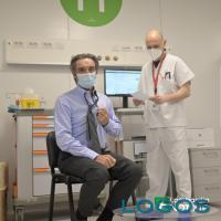 Milano - Vaccinazione per il presidente Attilio Fontana (Foto internet)