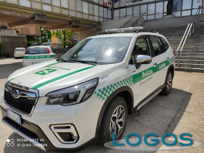 Turbigo - Il nuovo mezzo della Polizia locale