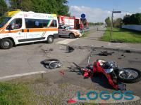 Vanzaghello - Incidente auto-moto, 5 maggio 2021