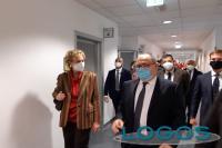 Milano - La vicepresidente della Lombardia, Letizia Moratti