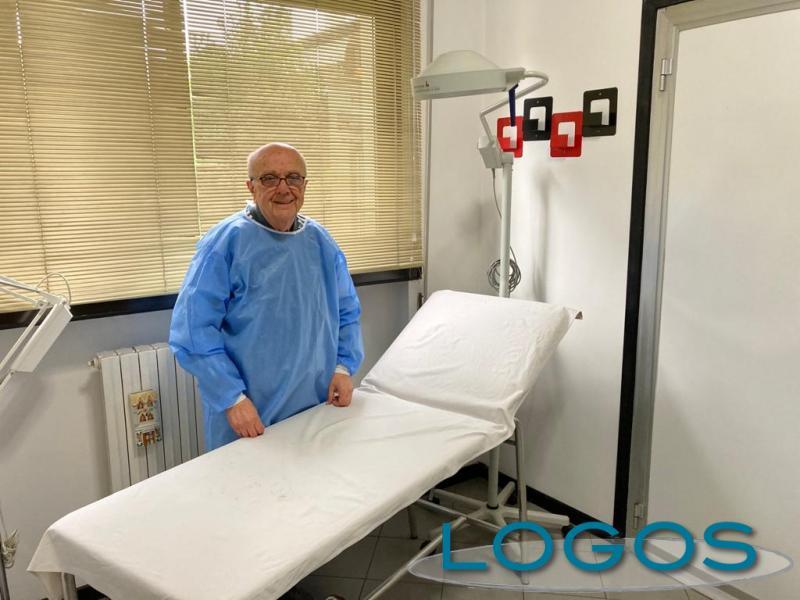 Castano - Il dottor Franco Gaiara
