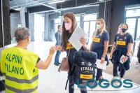 Milano / Sport - Le pallavoliste 'Azzurre' alle vaccinazioni