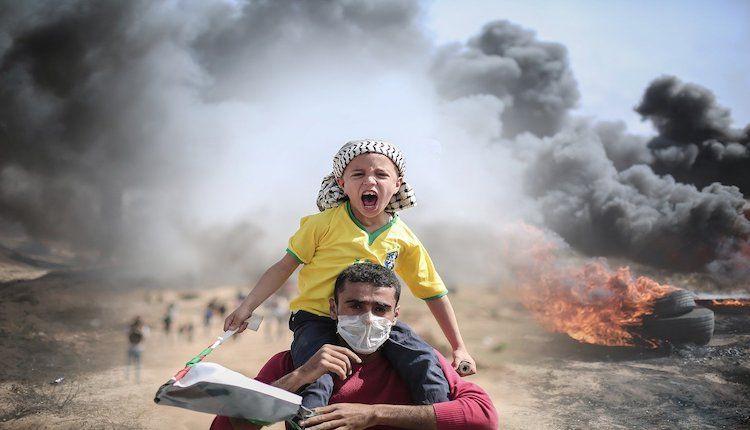 Attualità - Situazione Palestina (Foto internet)