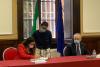 Milano - La firma del Protocollo