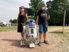 Storie - R2-D2, il mito robot di Star Wars: la riproduzione di due italiani