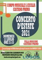 Castano / Eventi - 'Concerto d'Estate'