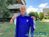 Turbigo / Sport / Storie - Adriano Bossi con la sua maglia della Nazionale