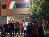 Cuggiono - Tifosi in festa per l'Italia