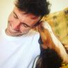 Buscate - Matteo Losa con il suo cane