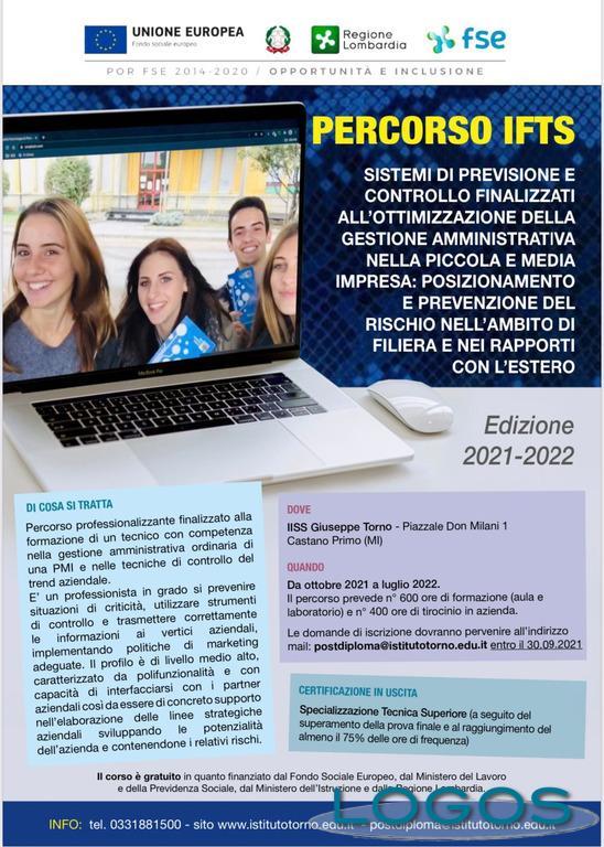 Scuole / Territorio - Corso IFTS all'istituto superiore Torno
