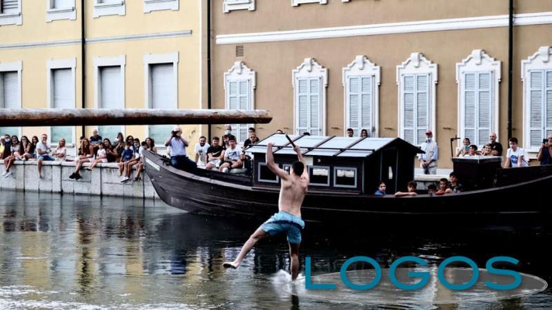 Boffalora - La 'Cuccagna sul Naviglio' 2021 (foto Sabina Doniselli)