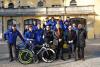 Sport - La squadra del Pedale Castanese-Verbania con Filippo Ganna