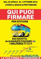 Territorio - Bus navetta Albairate-Malpensa