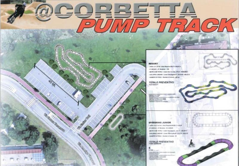 Corbetta - Progetto Pump Track