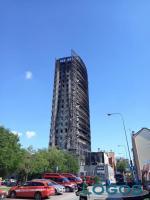 Milano - Vigili del Fuoco inverunesi al grattacielo bruciato
