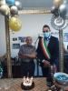 Castano - Paolo Noé (101 anni) con il sindaco Giuseppe Pignatiello