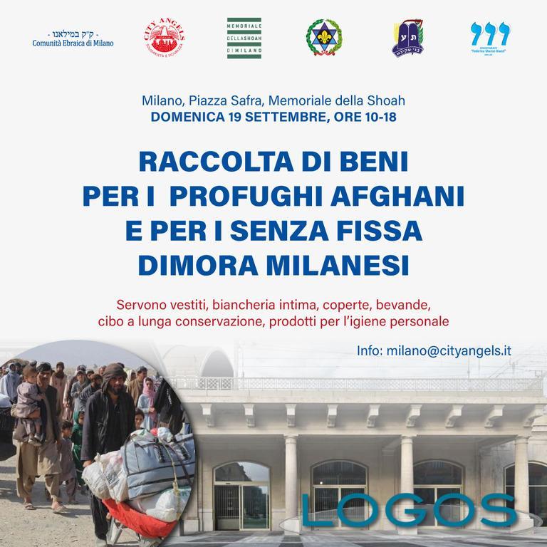 Sociale / Milano - Raccolta beni per i profughi