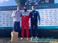 Sport / Robecchetto - Christian De Dionigi sul podio